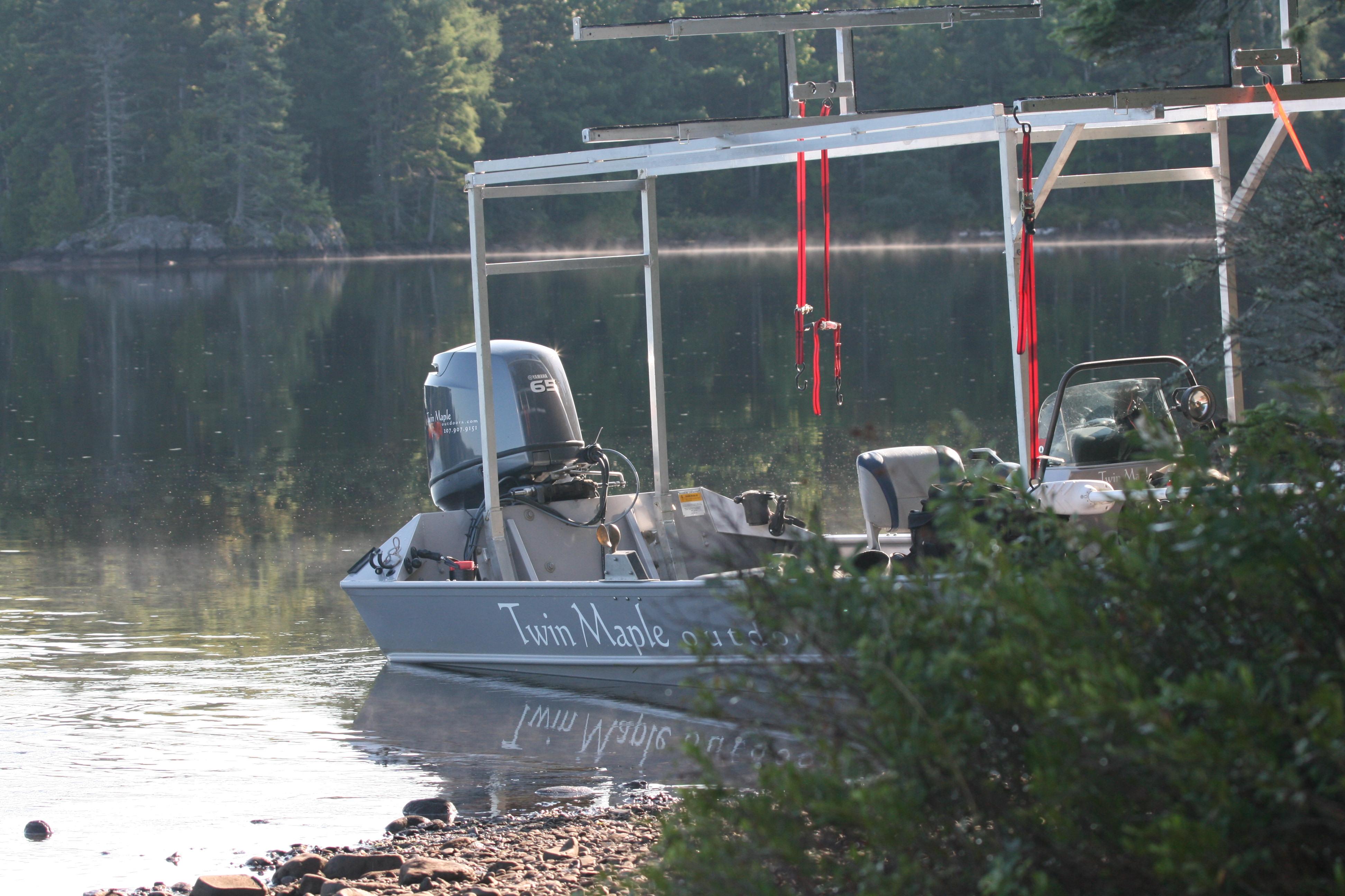 Jet Boat Kayak Rack